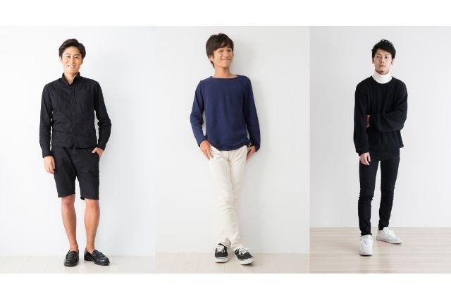 男性服装一覧
