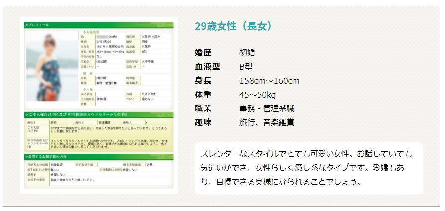 プロフィール画像 例